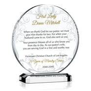 Thank You Pastor's Wife Plaque
