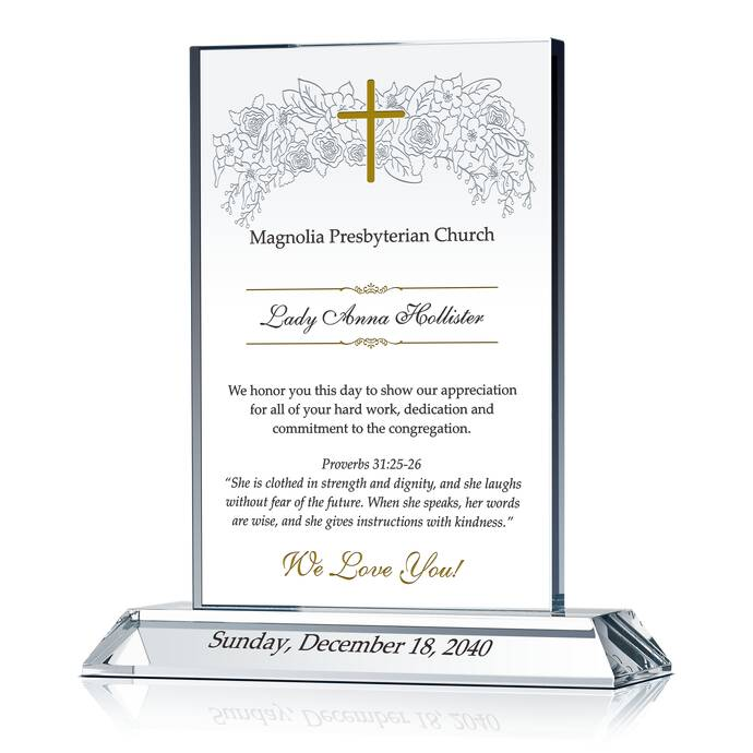 Tribute to Honor a Pastor's Wife | DIY Awards