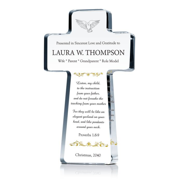 Appreciation Cross for Pastor's Wife | DIY Awards
