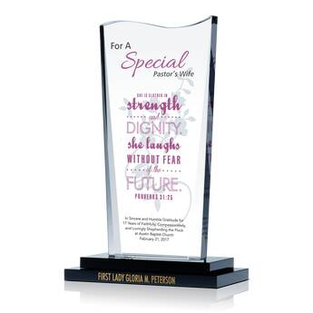 Pastor Wife Birthday Gift Plaque
