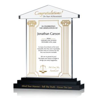 Law School Graduation Gift for Husband (#596-2)  sc 1 st  DIY Awards & Law School Graduation Gift for Husband (#596-2) | Wording Ideas ...