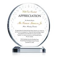 Music Ministry Appreciation Plaque