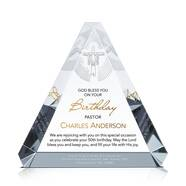 Pastor Birthday Appreciation Plaque