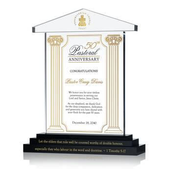 50th Anniversary Gift Plaque for Priest (#624-2)