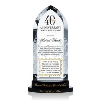 Church Anniversary Recognition Awards (#626-3)