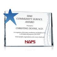 Community Service Award Plaque