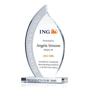 appreciation award text