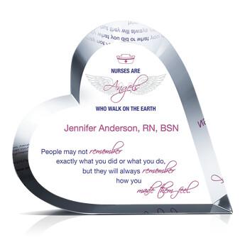 Nurse Appreciation Quotes Gift Plaque 672 3 Wording