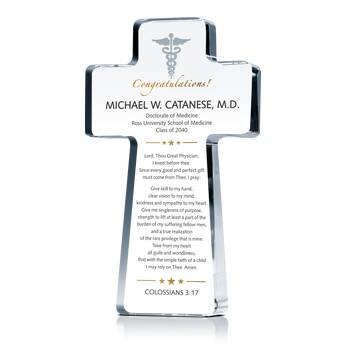 Physician's Prayer Gift Plaque