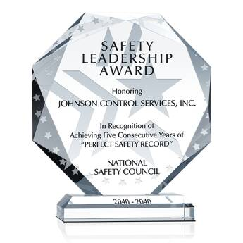 Safety Leadership Award (#007-3)