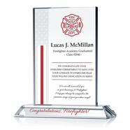 Fire Academy Graduation Gift Plaque