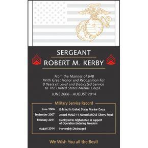 Marine Corps Retirement Wording #4 (#315-4)