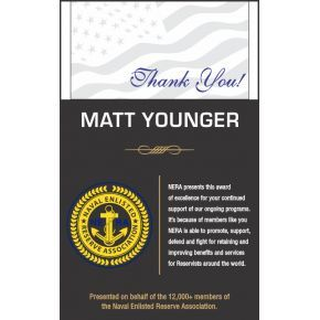 Naval Appreciation Award (#331-3)