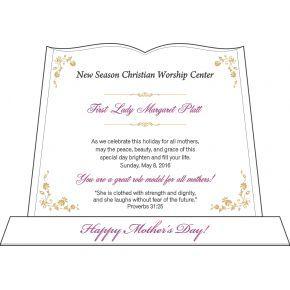 Pastor Wife Anniversary Gift (#519-2)