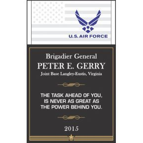 USAF Service Recognition Wording #3 (#308-3)