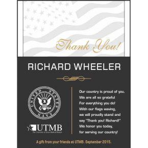 Navy Thank You Award (#291-3)