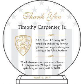 Police Academy Instructor Award (#461-5)