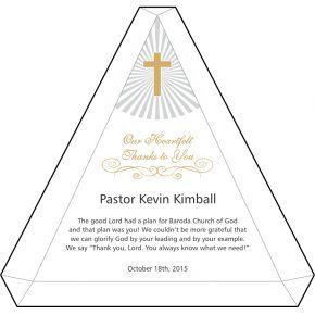 Heartfelt Thank You Gift Wording for Pastor (#297-5)