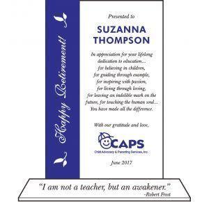 Teacher/Educator Retirement Quote (#535-2)