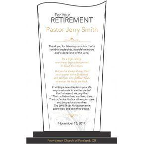 Sample Pastoral retirement religious Wording Ideas (#564-3)