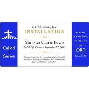 """Called to Serve"" Installation Gift Ideas (#579-1)"