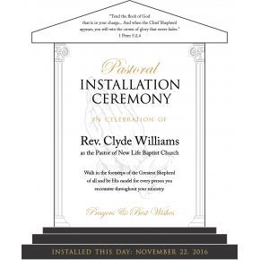 Pastor Installation Gift Plaque Diy Awards