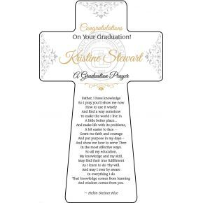 Graduation Prayer Gift Plaque (#594-1)
