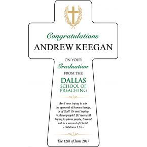 Pastor Graduation Gift Plaque (#594-3)