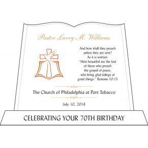 Pastor Birthday Gift Bible Verse (#611-3)