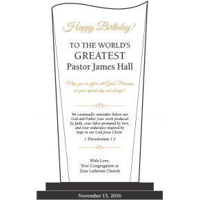 Happy Birthday Pastor Bible Verses (#612-1)