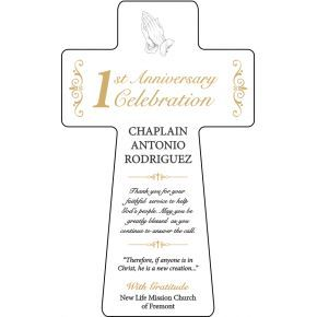 Pastoral Anniversary Gift Plaque Diy Awards