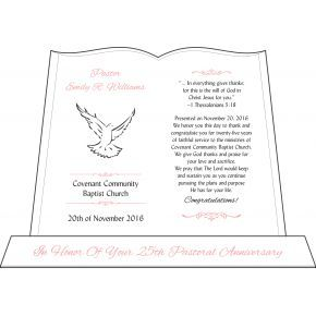 Pastor Silver Jubilee Anniversary Gift (#621-2)