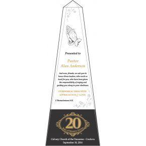 Pastor 20 Years Anniversary Scriptures Gift (#620-1)
