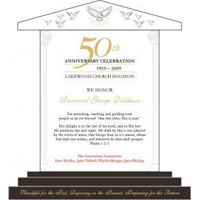 50th Church Anniversary Recognition Awards (#628-1)