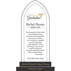 Nursing Graduation Quotes Gift Plaque (#607-1)
