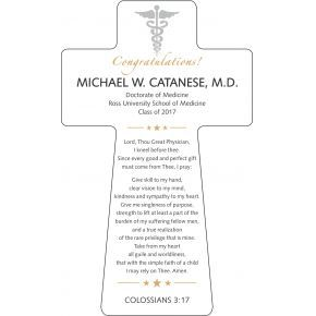 Physician's Prayer Gift Plaque (#674-2)