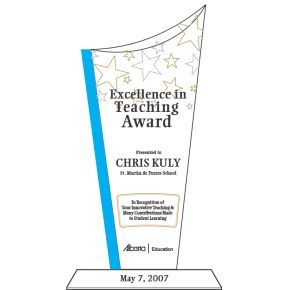 Teaching Excellence Award (#184-1)