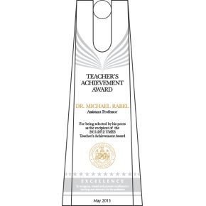 Teacher Achievement Award (#118-2)