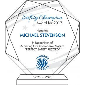 2013 Safety Champion Award (#007-1)