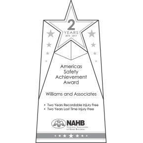 Annual Safety Star Award (#254-1)