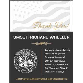 Army Thank You Award (#291-1)