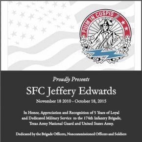 Army Appreciation Award (#295-1)