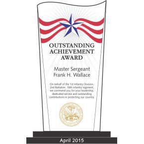 Army Outstanding Achievement Award (#324-1)