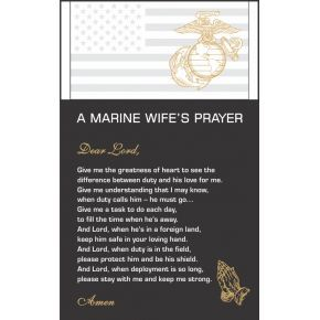The Marine Wife's Prayer  (#303-3)