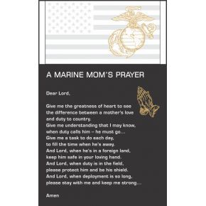 The Marine Mom's Prayer  (#303-4)