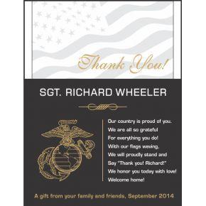 Marine Appreciation Gift Plaque (#311-1)
