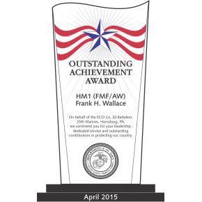 USMC Outstanding Achievement Award (#313-1)