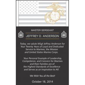 Marine Corps Retirement Wording #2 (#315-2)