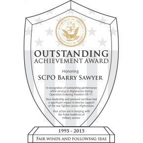 Navy Achievement Recognition Award (#330-2)