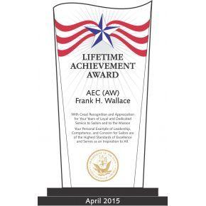 USN Lifetime Achievement Award (#332-2)